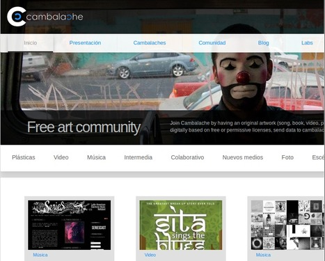 Cambalache, comunidad de arte libre | educARTE | Scoop.it