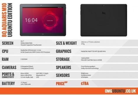 La première tablette Ubuntu de l'histoire disponible en pré-commande | Apprentissage en ligne | Scoop.it