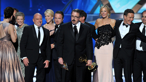 Emmys: 'Modern Family' Retains Comedy Crown, 'Breaking Bad' Bests ... - Hollywood Reporter   cindys-movies   Scoop.it