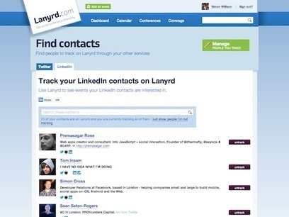 Leaping Learning Lizards!  Lanyrd integrates with LinkedIn | Agile Learning | Scoop.it