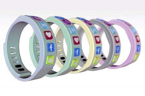 Hitcoin, il braccialetto per diventare amici su Facebook 'con un cinque' [VIDEO] | Social Media Consultant 2012 | Scoop.it