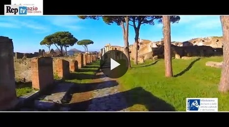 Ostia Antica seen by a drone | LVDVS CHIRONIS 3.0 | Scoop.it