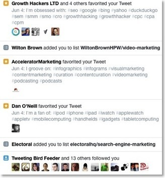 Quick Twitter Growth Hack : Leveraging Hashtags For Highly Targeted Followers   Mac SEO Tools and Tips   Scoop.it