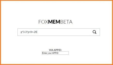 Resuelve problemas de matemáticas paso a paso en Foxmembeta | SocialEduca | Scoop.it