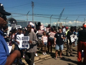 "Detroit Rally Supports ""Bring Jobs Home Act"" - CBS Detroit 