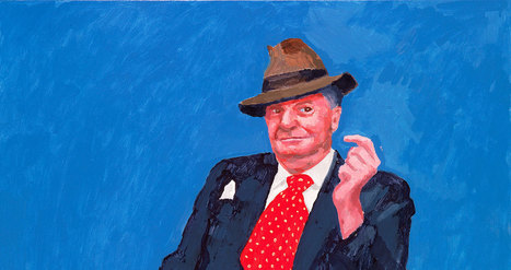 David #Hockney RA: 82 Portraits and 1 Still-life | Exhibition | Royal Academy of Arts | Arts vivants, identité européenne - Living Arts, european Identity | Scoop.it
