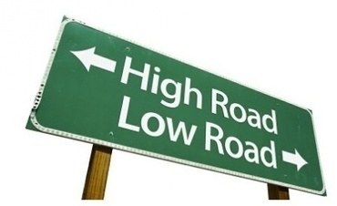 One Takes the High Road, Most Take the Low Road | TRENDS IN HIGHER EDUCATION | Scoop.it