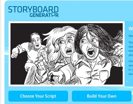 Storyboard Generator | Tools for Learners | Scoop.it