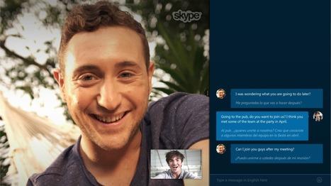 La traduction instantanée est (presque) disponible sur Skype | Geeks | Scoop.it