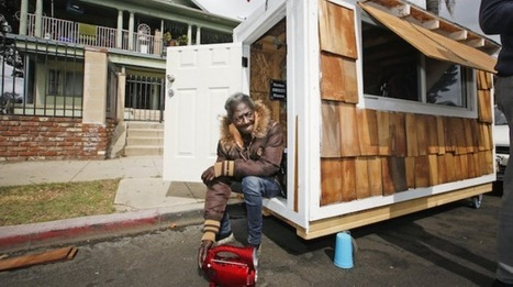 Tiny Homes for the Homeless Now Under Attack in #California #Wallstreet #greed @ work | USA the second nazi empire | Scoop.it
