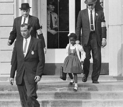 "Twitter / hennneh: Ruby Bridges, the first African ...   ""1960""   Scoop.it"