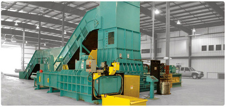 Cardboard Baler : Recycling Equipment : Shredders : Grinders : Compactors : Balers : Olympicequipment.com | Baler Service & Repair United States | Scoop.it