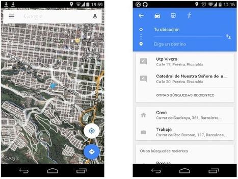 Geoinformación: Descarga el APK de Google Maps 9.0 con Material Desing | #GoogleMaps | Scoop.it