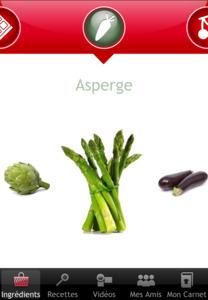 Une application 100% cuisine avec Julie Andrieu et Moulinex | CRM et communauté | Scoop.it