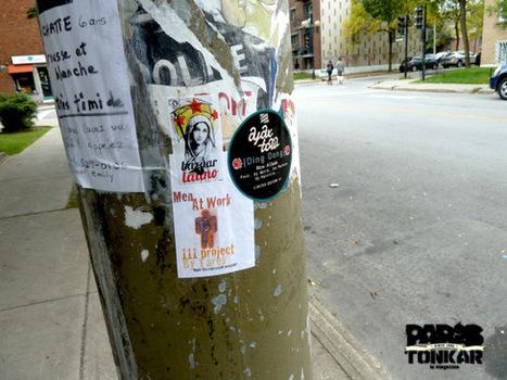 Stickers à Montréal :: sept. 2013 | Les créations de Tarek | Scoop.it