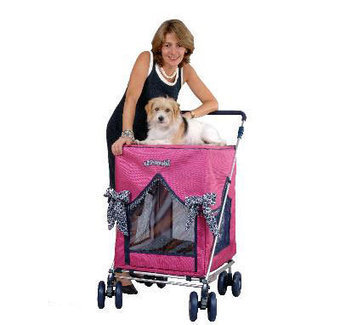 Petmobil Pet Strollers - Petfavors.com - The on-line store for pampered pets. Designer pet beds, pet carriers, outdoor cat enclosures, pet strollers | Dog Strollers For Small Dogs | Scoop.it