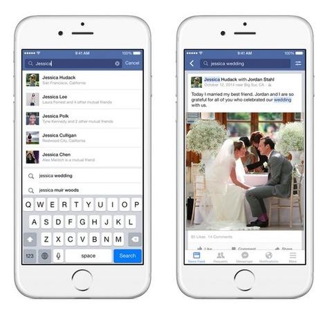 Facebook: la Recherche sur Mots-clés et Mobile est enfin arrivée | social networking | Scoop.it