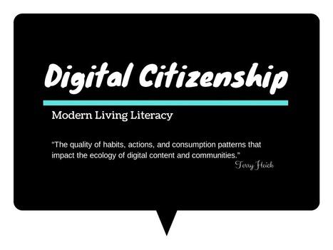 Digital Citizenship Exploration   Information for Librarians   Scoop.it