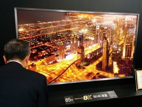 Forget 4K, Sharp's already pushing TVs with 8K resolution | Ultra High Definition Television (UHDTV) | Scoop.it