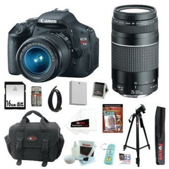 Canon EOS Rebel T3i 18 MP CMOS Digital SLR Camera with EF-S 18-55mm Deluxe Accessory Kit | Online Shoping | Scoop.it