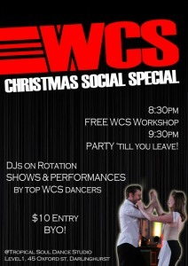 WCS Christmas Social Special | Tropical Soul Dance Studio ... | The State of Bachata | Scoop.it