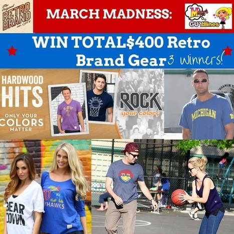 Are You Ready For March Madness? Win $400 From Retro Brand: 3 Winners | Social Media | Scoop.it