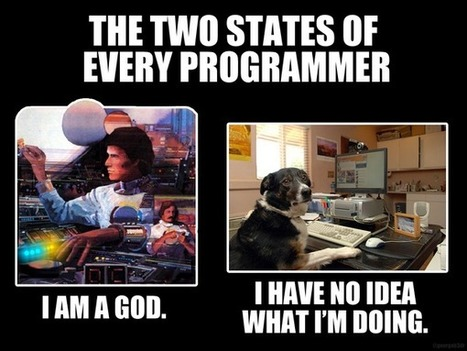 The two states of every programmer | @georgeb3dr | fun for geeks | Scoop.it