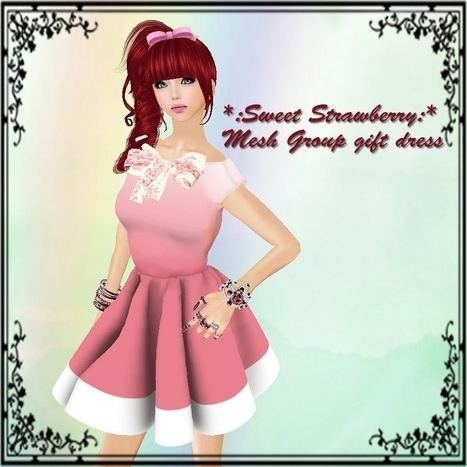 *:Sweet Strawberry:*: New Gift for members | Finding SL Freebies | Scoop.it
