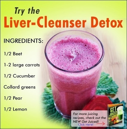 Juicing Recipe for Liver Detox | Healthy Recipes and Tips for Healthy Living | Scoop.it