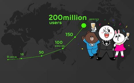 Line, le nouveau réseau social et mobile qui dépassera Facebook | Geeks | Scoop.it