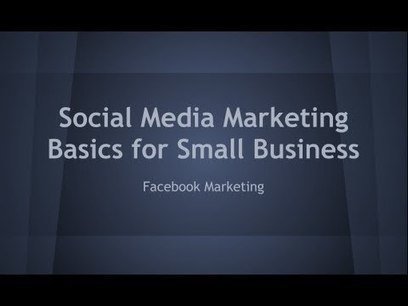 Social Media Marketing Basic For Small Business - Facebook | Money | Scoop.it