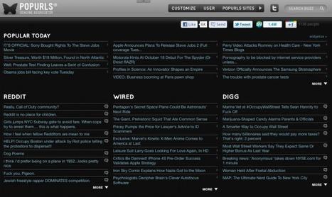 18 News-Aggregatoren gegen die Informationsflut [Update] | B2B-Networking | Scoop.it