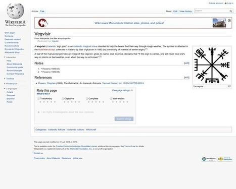 Vegvísir - Wikipedia, the free encyclopedia | vaporizors | Scoop.it