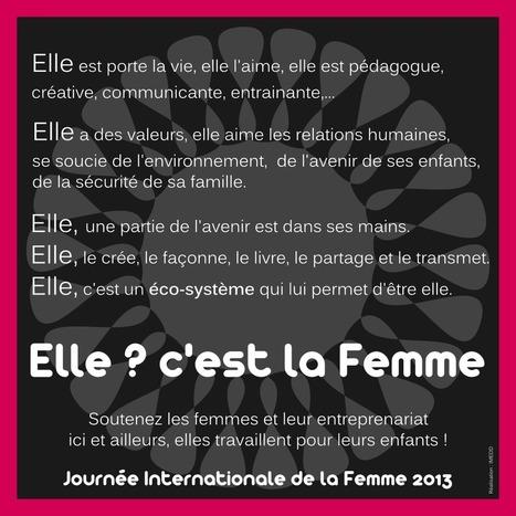Journée Internationale de la Femme 2013 | | IMEDD-focus sur la responsabilité sociétale | Scoop.it