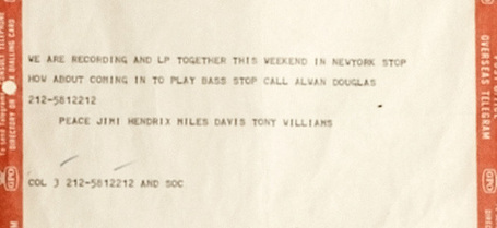 Il telegramma di Jimi Hendrix e Miles Davis per Paul McCartney | Jazz in Italia | Scoop.it