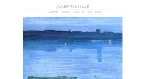 'Whistler White' | Artist Website | Technology in Art And Education | Scoop.it