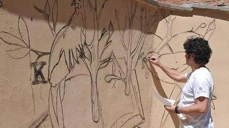 Tordesillas lleva el arte a la calle | Mexicanos en Castilla y Leon | Scoop.it