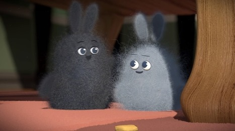 This Fun Animated Short Imagines a World in Which Dust Bunnies Are Alive (Video) | Strategy and Competitive Intelligence by Bonnie Hohhof | Scoop.it