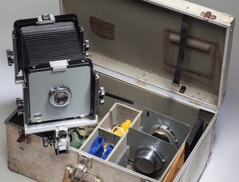 An Ansel Adams View Camera is Being Auctioned Off for the First Time Ever   L'actualité de l'argentique   Scoop.it