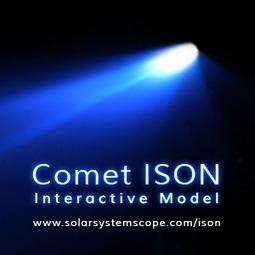 Comet ISON Model   Comète ISON   Scoop.it