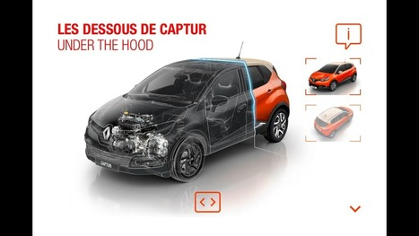 Renault Uses Mobile Apps To Bring Brand Content To Life | Content Creation, Curation, Management | Scoop.it