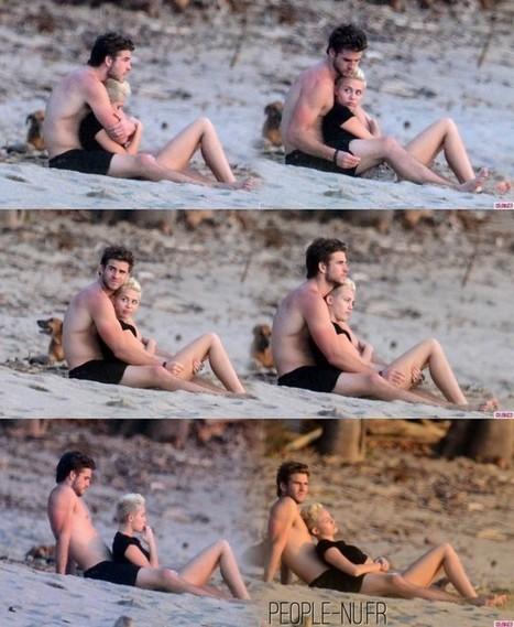 Photos : Liam Hemsworth et Miley Cyrus sexy à la plage ! | Radio Planète-Eléa | Scoop.it