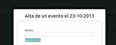 Calendario de Eventos Responsive en HTML5, colorbox y base de datos MySQL Blog de Martin Iglesias | Diseño Web Coruña Martin Iglesias | Scoop.it