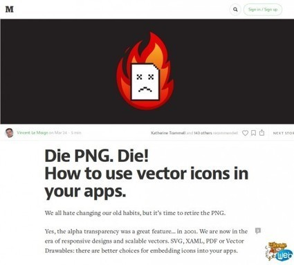 Vers la mort du PNG dans vos applications ? | Web Increase | Scoop.it