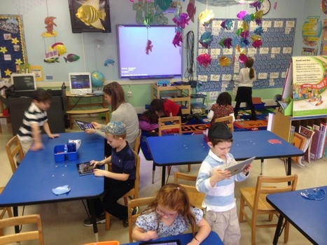 Kindergarteners Gaining Independence, Pride & Increased Comfort Level with the iPad -  Same as the OCSB! | education | Scoop.it