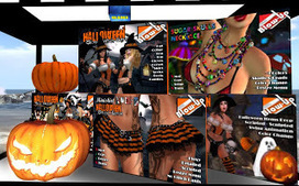 Halloween Cart Sale | A Collection of Second Life Blogs | Scoop.it