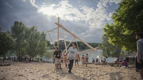 800 étudiants créent une ville flottante le temps d'un week-end   Villes en mutation, BTS I   Scoop.it