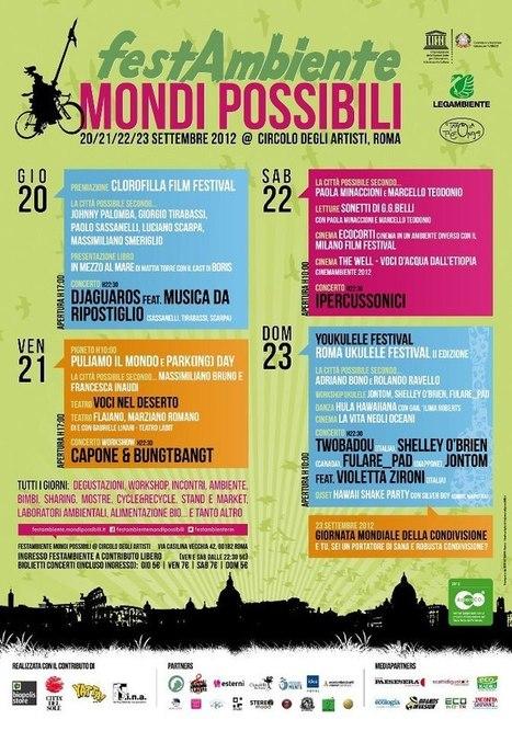 Conto alla rovescia per FestAmbiente MondiPossibili a Roma   Social Mercor   Scoop.it