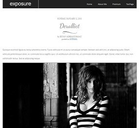 Exposure Blogger Theme | Best Themes - Blogger Template Store | Blogger themes | Scoop.it