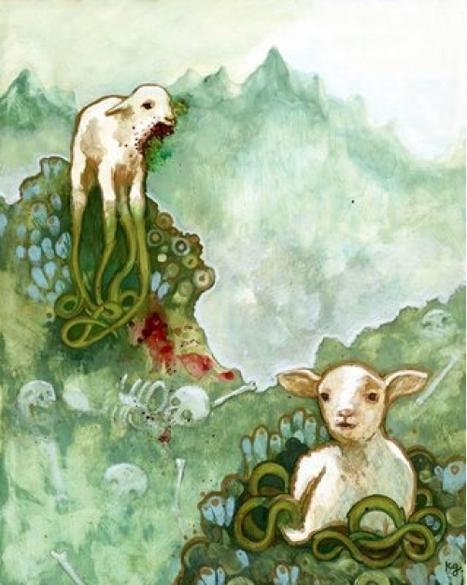 Vegetable Lamb of Tartary, Barometz,Borametz, Jeduah, Scythian Lamb | They were here and might return | Scoop.it